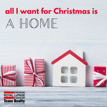 All I want for Christmas is a HOME
